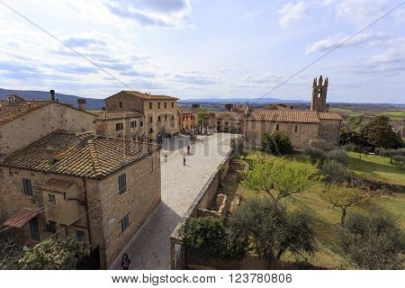 Monteriggioni Was An Important Defensive Line For The City Of Siena