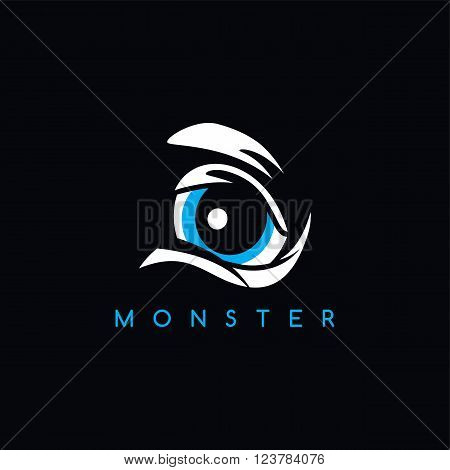 Angry Monster Eye