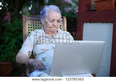 A Grandma Working