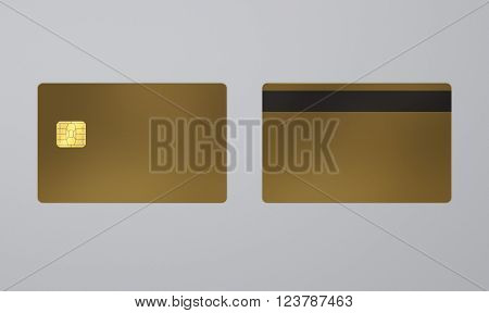 Golden Card With Ic