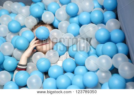 Toddler On The Balls