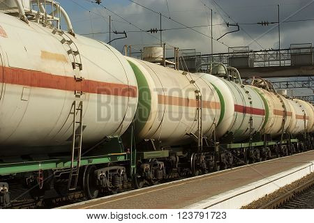 transportation of propane gas in tanks by rail
