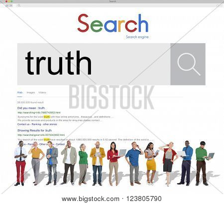 Truth Fact Real Trust Honest Truthfulness Concept