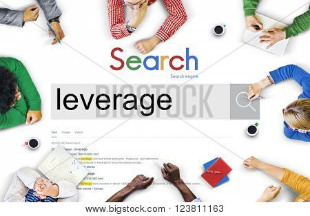 Business Team Meeting Brainstorming Search Concept