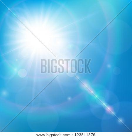 Sunshine in the Blue Sky