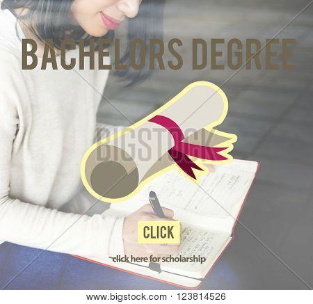 Bachelors Degree Success Graduation University Concept