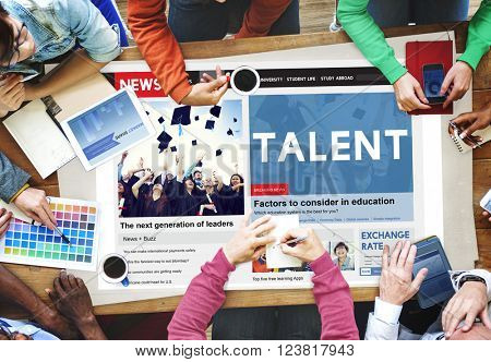 Talent Skilled Expertise Professional Abilities Concept
