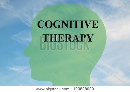 Cognitive Therapy Brain Concept