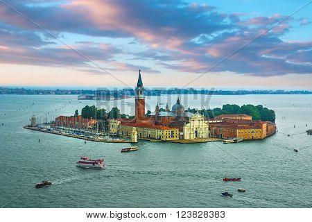 San Giorgio Maggiore island, Venice, Veneto, Italy