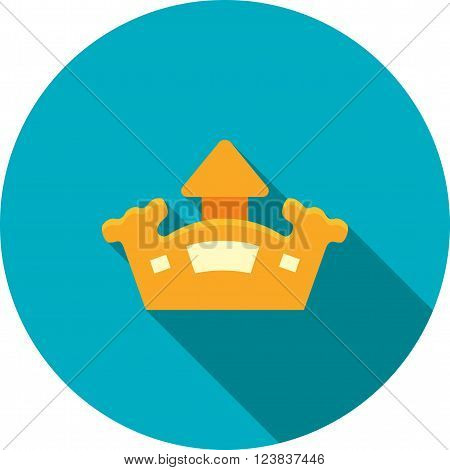 Castle, bouncy, park icon vector image. Can also be used for outdoor fun. Suitable for use on web apps, mobile apps and print media.