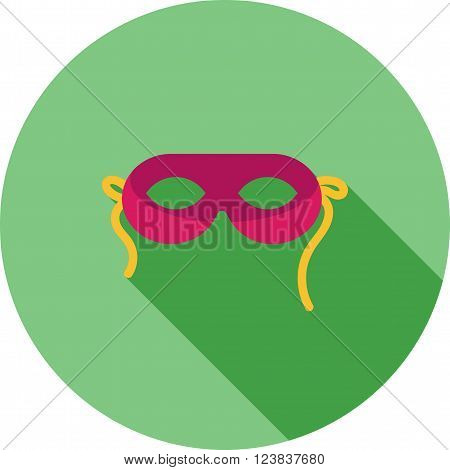 Mask, face, funny icon vector image. Can also be used for outdoor fun. Suitable for use on web apps, mobile apps and print media