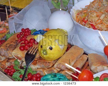 Lemon Arrangement