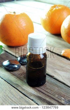 Essential Oil And Orange