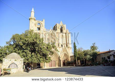 Lala Mustafa Pasha Mosque In Famagusta, Cyprus