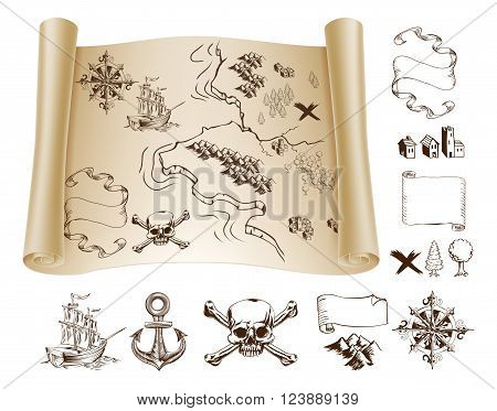 Treasure Map Kit