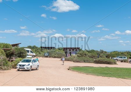 ADDO ELEPHANT NATIONAL PARK SOUTH AFRICA - FEBRUARY 22 2016: A view of Jacks Picnic Site a botanical reserve named after a black rhino called Jack