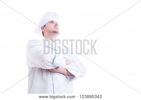 Hero Shot Of A Proud And Confident Chef Or Cook