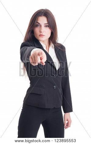 Human Resources Agent Selecting Or Choosing New Employee Concept
