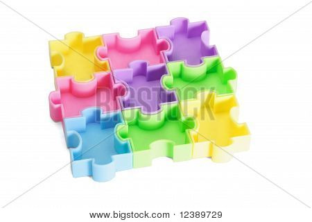 Multicolor Plastic Jigsaw Puzzles