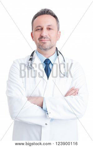 Young Handsome And Trustworthy Male Doctor Or Medic