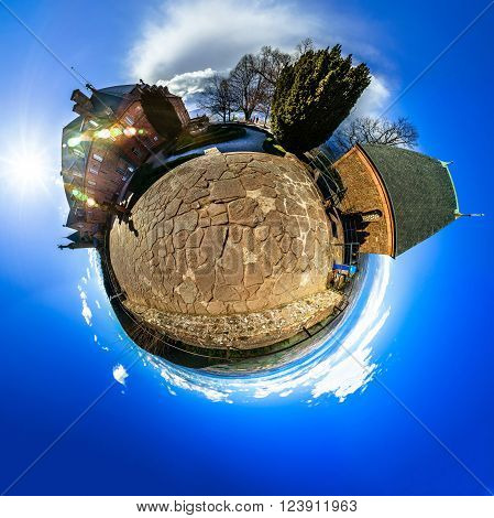 Mont Sainte Odile Little Planet   Spherical Panorama