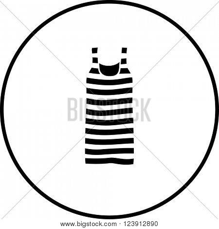 striped tank top symbol