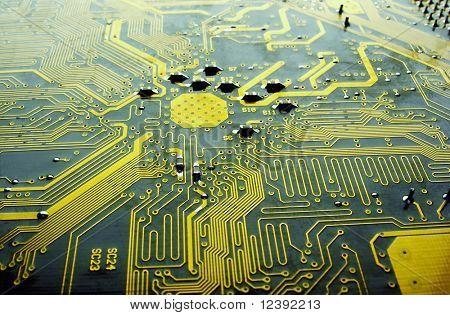 main circuit board in computer