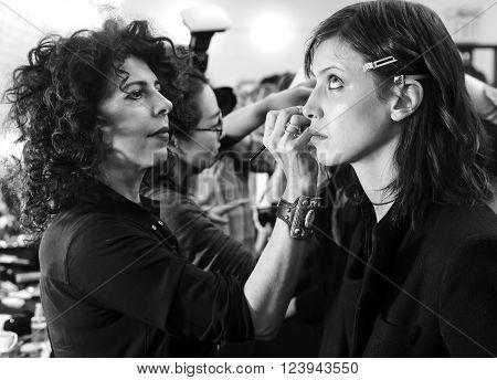 Jill Stuart - Backstage - Fall 2016 Collection