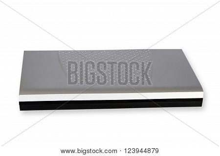 Decoder isolated on white Background. Shot in Studio