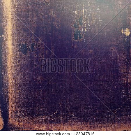 Retro vintage style background or faded texture with different color patterns: brown; blue; purple (violet); pink; gray