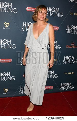 LOS ANGELES - MAR 29:  Briana Evigan at the High Strung Premiere at the TCL Chinese 6 Theaters on March 29, 2016 in Los Angeles, CA