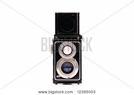 Vintage Camera Front Perspective