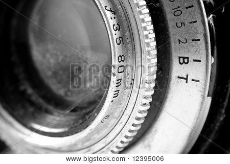 Vintage câmera Reflex de lente