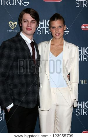 LOS ANGELES - MAR 29:  Nicholas Galitzine, Keenan Kampa at the High Strung premiere at the TCL Chinese 6 Theaters on March 29, 2016 in Los Angeles, CA
