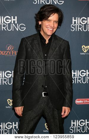 LOS ANGELES - MAR 29:  Michael Damian at the High Strung premiere at the TCL Chinese 6 Theaters on March 29, 2016 in Los Angeles, CA