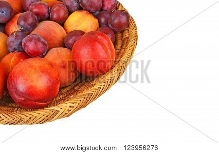 Fruits In Wattled Basket