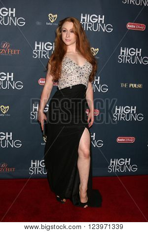 LOS ANGELES - MAR 29:  Corinne Holt at the High Strung premiere at the TCL Chinese 6 Theaters on March 29, 2016 in Los Angeles, CA
