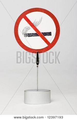 ningún signo de fumar