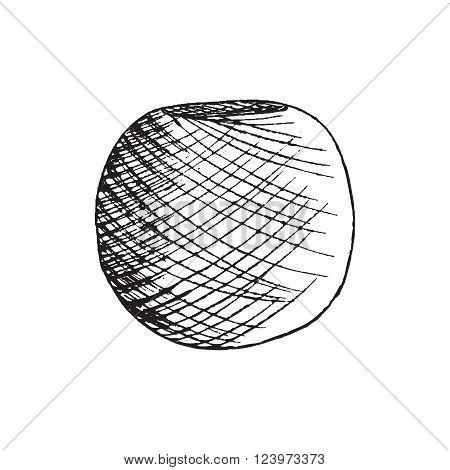 Balls of yarn for knitting. Vector illustration