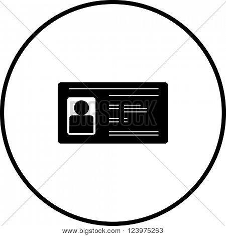 identification card symbol