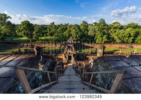 View From Ancient Pre Rup Temple