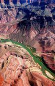 Amazing Aerial View Of The Grand Canyon, Arizona