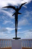 Statue Of Boy And Bird, Fajardo, Puerto Rico