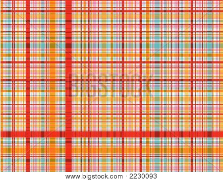 Candy Red Plaid (vector)