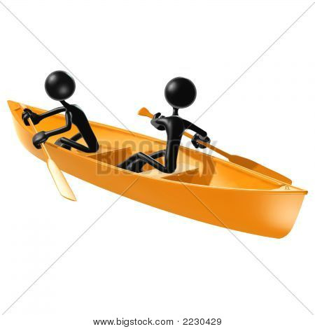 Teamwork Rowing