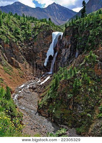 Shumak Falls In July