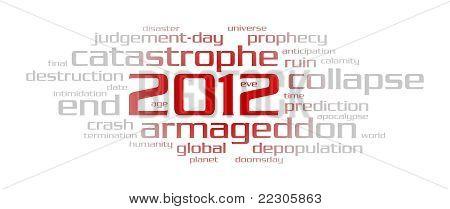 2012 Year (word Cloud)
