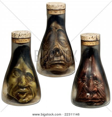 very cool heads in bottles