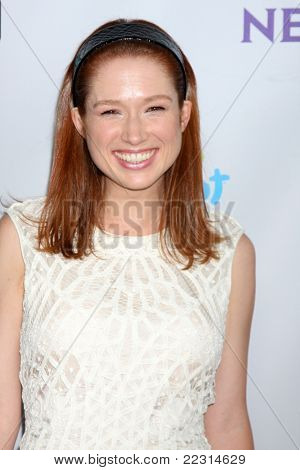LOS ANGELES - AUG 1:  Ellie Kemper arriving at the NBC TCA Summer 2011 All Star Party at SLS Hotel on August 1, 2011 in Los Angeles, CA