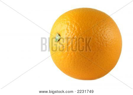 One Orange, Isolated